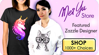 Mei Yu's Zazzle Store, featuring her original artwork on over 1000 products!